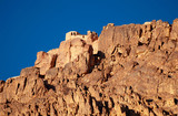 Greek orthodox chapel on mount sinai / moses mountain at 2285m i poster