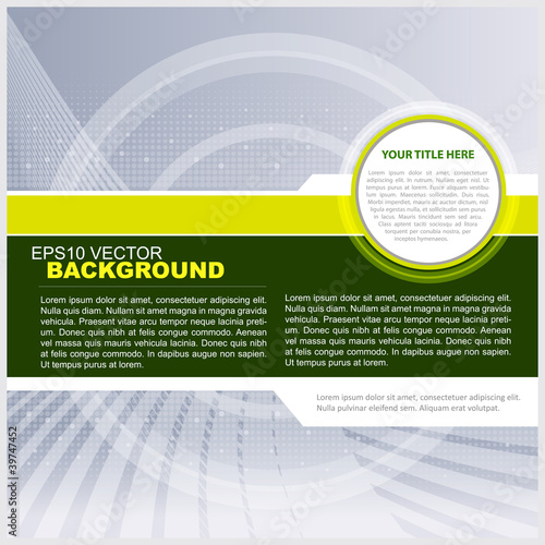 Vector Green Technical background