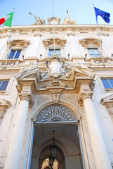 Rome Consulta building facade