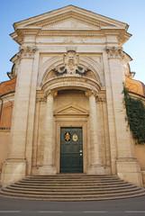 Rome Saint Andrea church at Quirinale