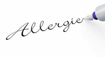 Stift Konzept - Allergie