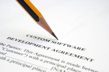 Software agreement