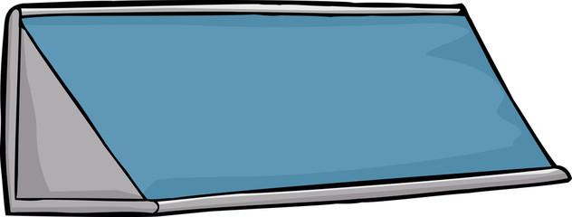 Blue Nameplate