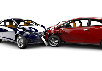 Accident with two cars © Cla78