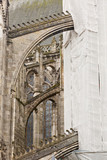 Building works on Saint Gatien cathedral