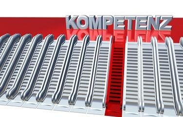 3D Rolltreppe - KOMPETENZ