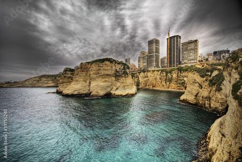 El-Raouche (Pigeon Rocks), Beirut- Lebanon