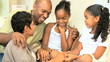 African American Parents and Children Together