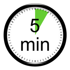 Minuterie - 5 minutes