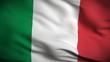 Italian Flag HD. Looped.