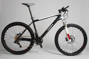 Mountainbike freigestellt