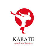 Logo karate # Vector