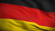 German Flag HD. Looped.