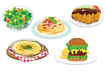 レストラン 食べ物