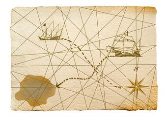 portulano, mapa