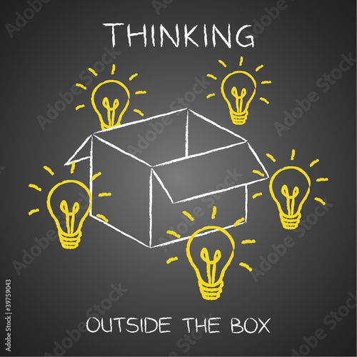 Doodles, Thinking outside the box