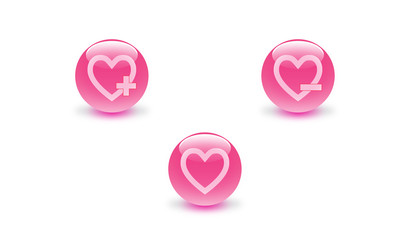 heart icon button