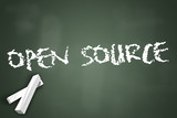 "Chalkboard ""Open Source"""