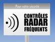 panneau - radar automatique