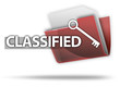 "3D Style Folder Icon ""Classified"""