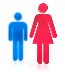 Mann Frau Icon 3