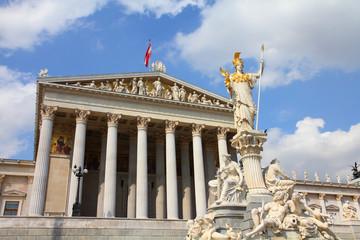 Austria - parliament building in Vienna