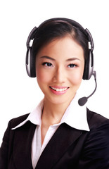 Asian Receptionist