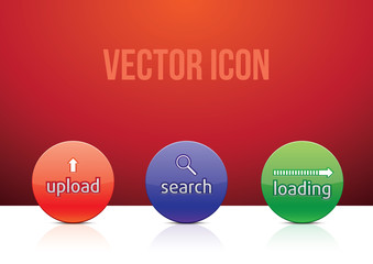 vector icon set color