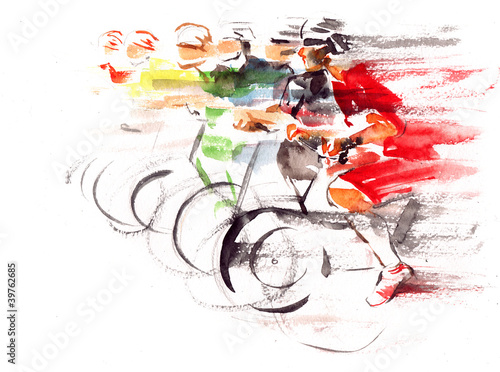 Fototapeta cycling