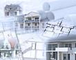 Architektur-Collage