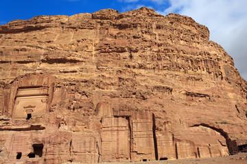 Tombs in Petra, Jordan
