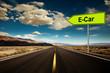 road to e-car