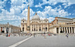 Leinwanddruck Bild - Piazza Retta