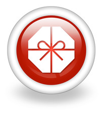"Light Red Icon ""Present / Gift"""