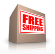 Free Shipping Cardboard Box Ship Your Order No Cost