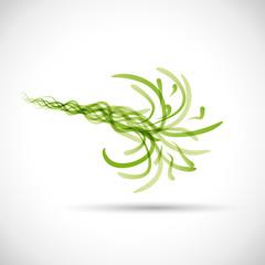 Green Energy Background # Vector