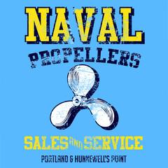Naval propellers