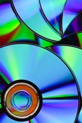 closes – up CD texture