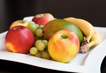 Obst in einer Schale