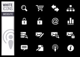 White - Website and Internet Icons
