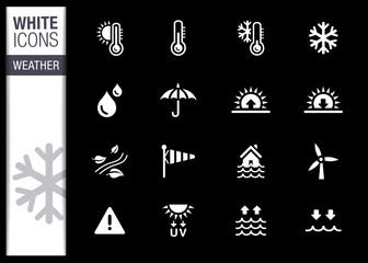White - Weather Icons