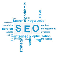 SEO - search engine optimization concept