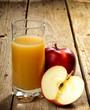succo di mela rossa