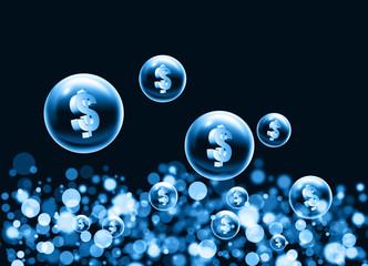 dollar bubbles