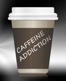 Caffeine addiction. poster