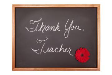 Thank you teacher sign