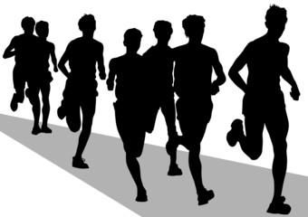 Run sport mans