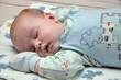 Leinwanddruck Bild - sleeping child