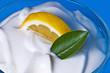 Quark mit Zitrone