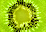 Fototapety Fresh Kiwi background / SuperMacro / back lit